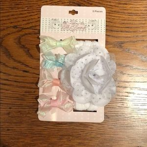 Other - Baby Bows and Flower Headband